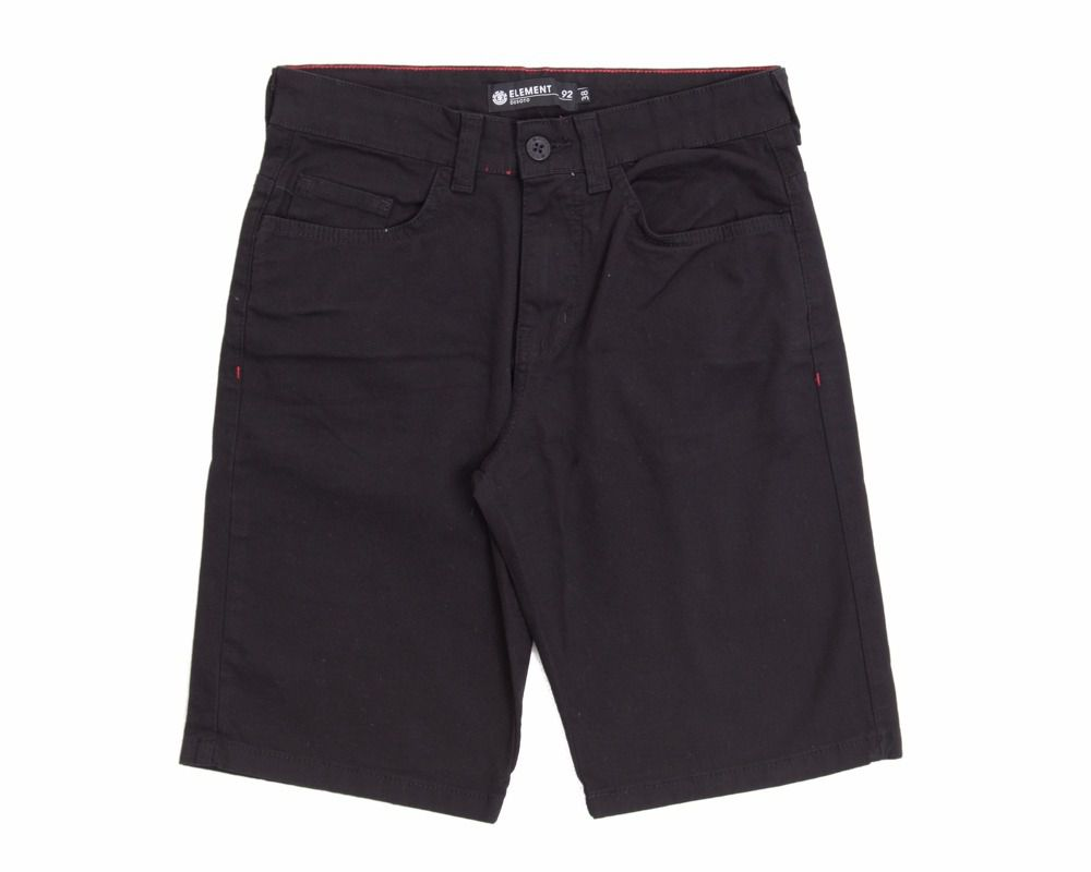 Bermuda Element Walk Essential Black - Preta