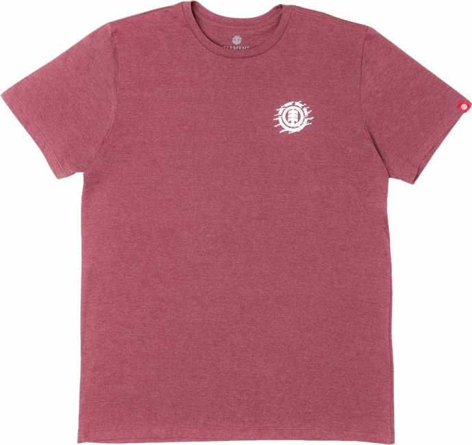 Camiseta Element Liquid Icon Vermelho Mescla