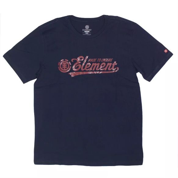 Camiseta Element Signature Marinho