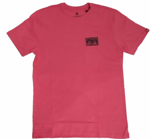 Camiseta Element  Tape Rosa