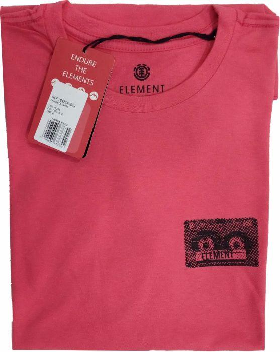Camiseta Element  Tape Rosa