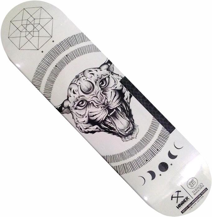 CÓPIA - Shape Hammer Artistic Collab - Thiago Bianchini - The Leopard