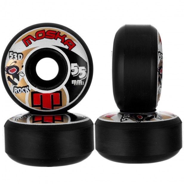Roda Moska Skate 55 mm Preta