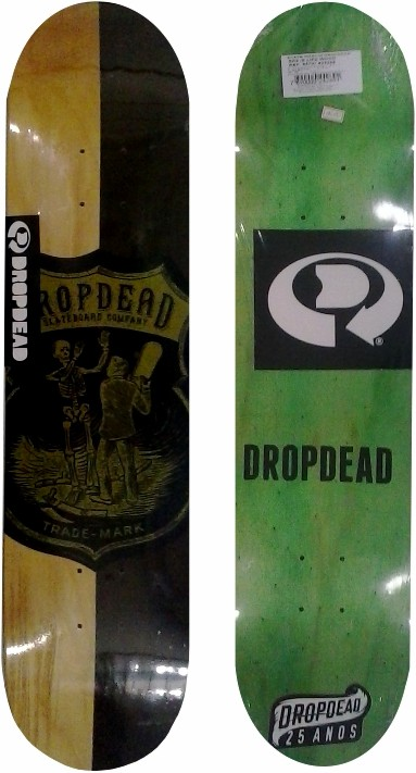 Shape Drop Dead Sk8 is Life Wood