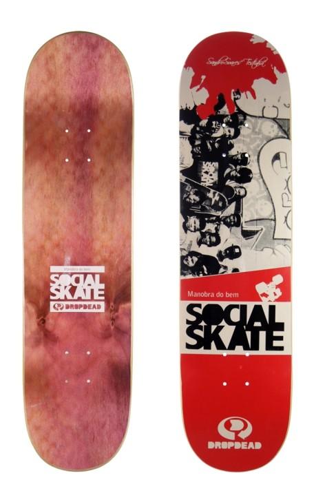 Shape Drop Dead Skate Social