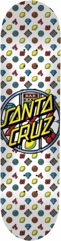 Shape Santa Cruz Powerlyte Jackpot Dot Branco