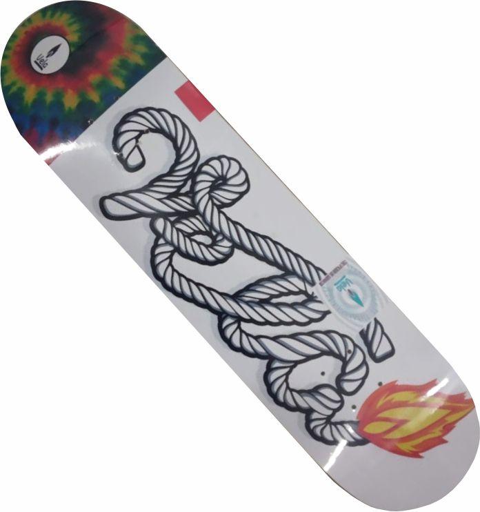 Shape Vela Marfim para skate fogo