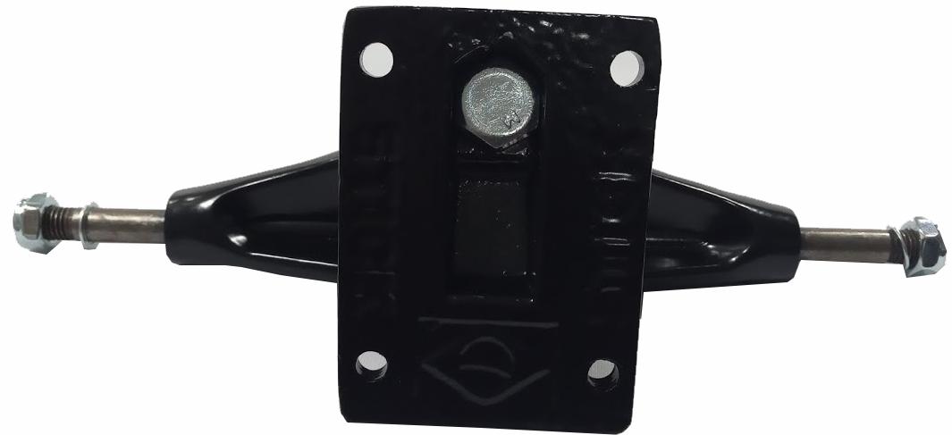 Skate Black Sheep Montado Completo Pro Parts Stick FCR Vermelho/Preto