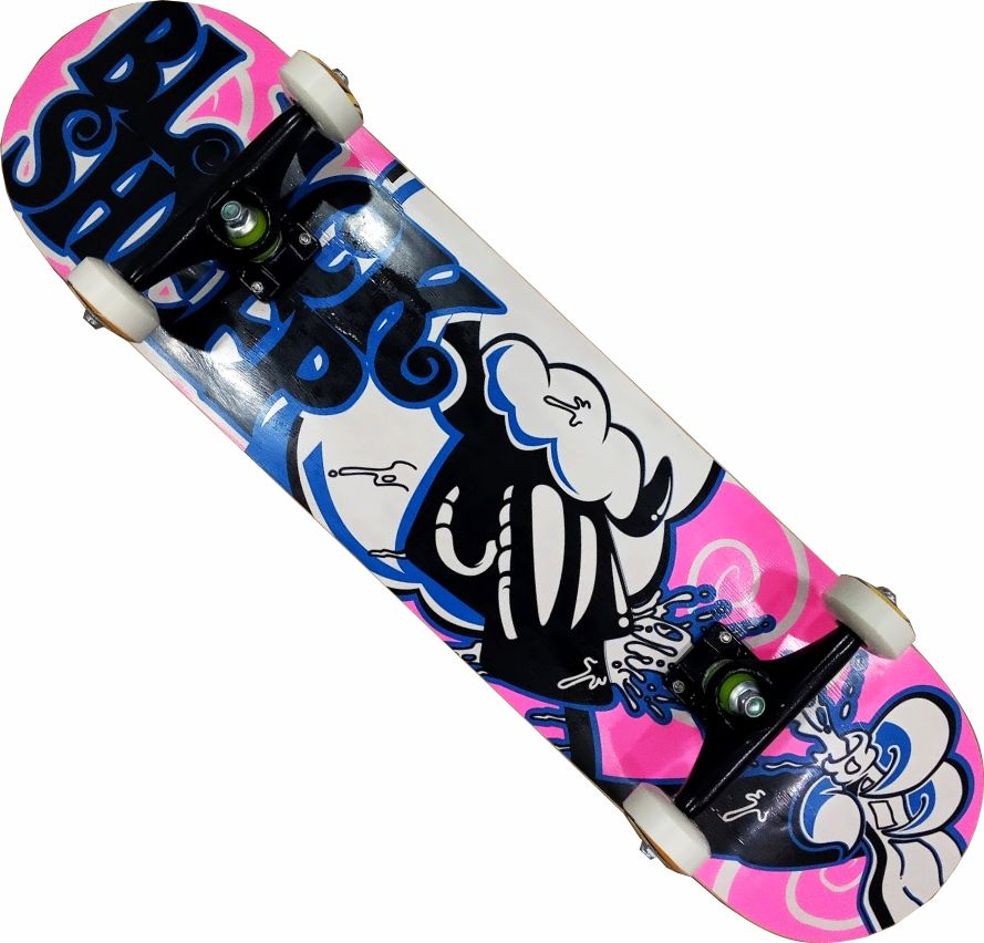 Skate Black Sheep Montado Completo Feminino Next Stick Abec 11