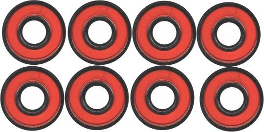 Skate Black Sheep Montado Completo Pro Stick Abec 11 Vermelho