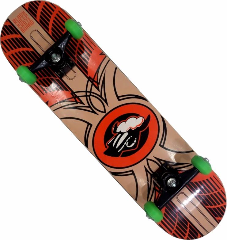 Skate Black Sheep Montado Completo Pro Stick Parts FCR