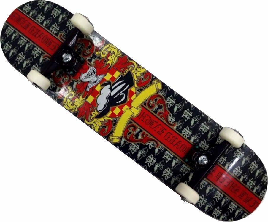 Skate Black Sheep Montado Completo Profissional Stick Abec 13 Tarja