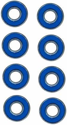 Skate Black Sheep Montado Completo Profissional Stick FCR azul