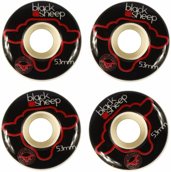 Skate Black Sheep Montado Completo Profissional Stick Next FCR Azul