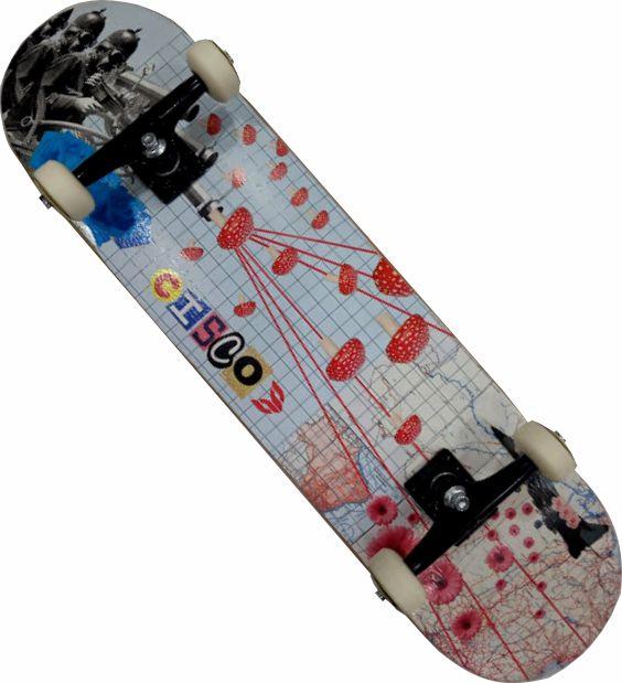 Skate Cisco Montado Completo Profissional War Next Stick FCR