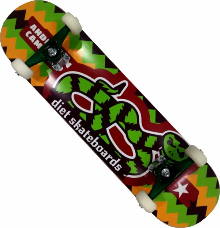 Skate Diet Maple Montado Completo Pro Next Stick Fcr Verde