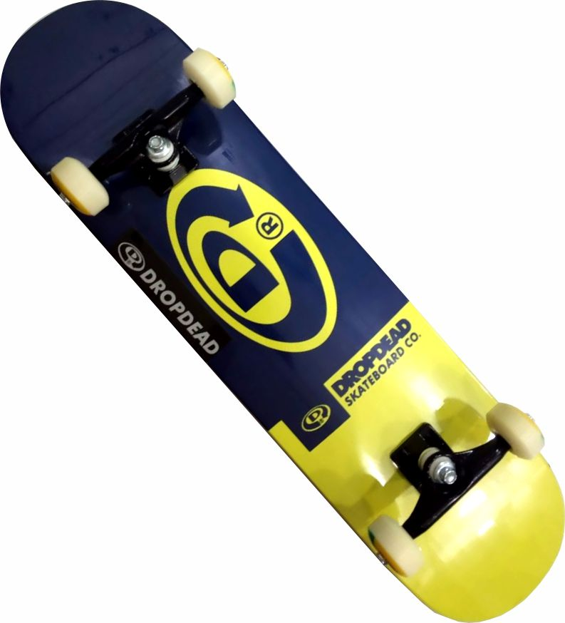 Skate Drop Dead Montado Completo Profissional Classic /Abec 13/Parts/Stick