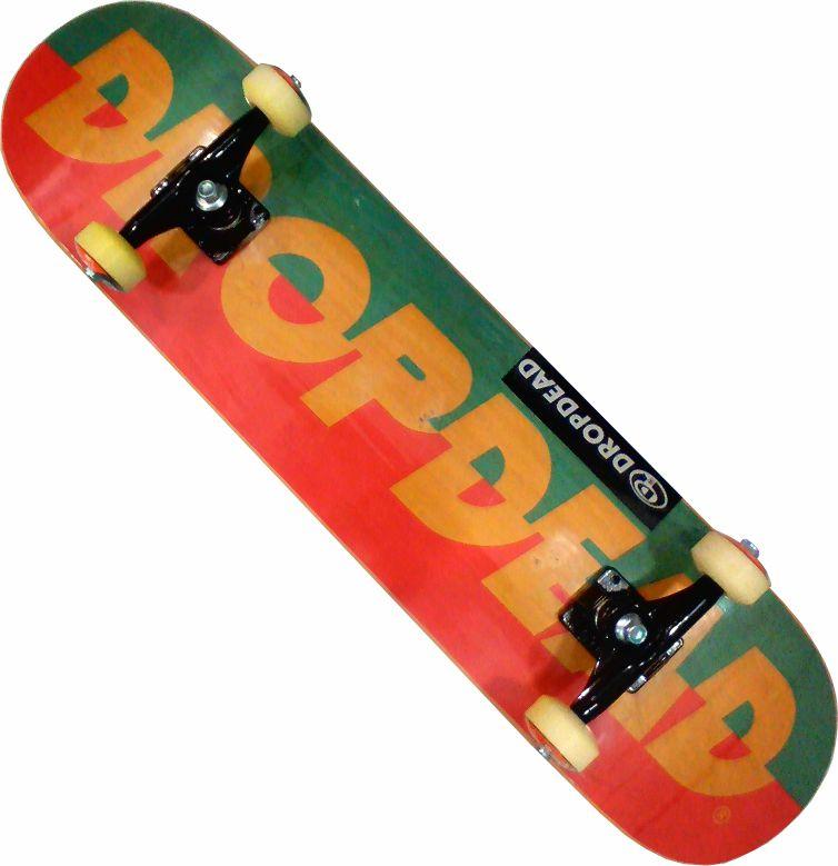 Skate Drop Dead Montado Completo Profissional Abec 13/Parts/Stick