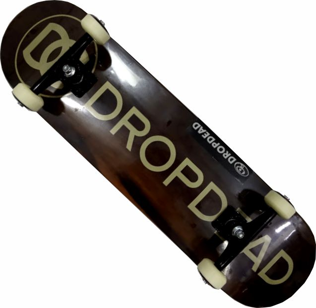 Skate Drop Dead Montado Completo Profissional Naked Gold Tone Stick FCR Black Sheep