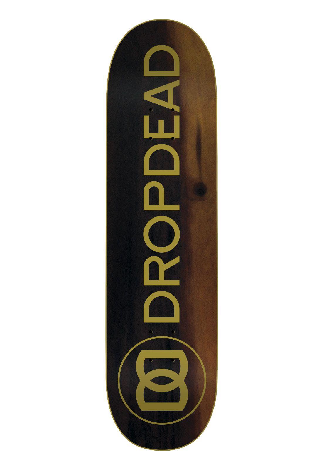 Skate Drop Dead Montado Completo Profissional Naked Gold Tone Stick FCR Black Sheep
