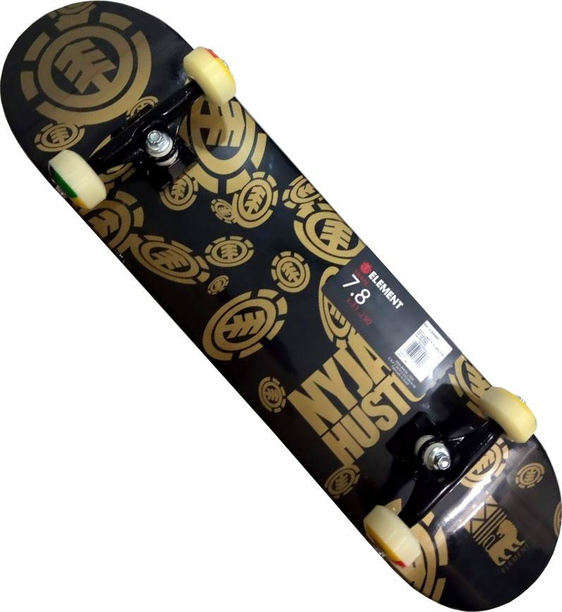 Skate Element Montado Completo Nyjah Make/Reds Bones/Stick/Parts