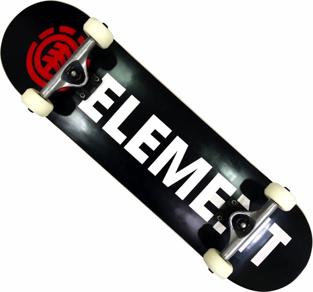 Skate Element Montado Completo Bazin Next Metallum Visible BS