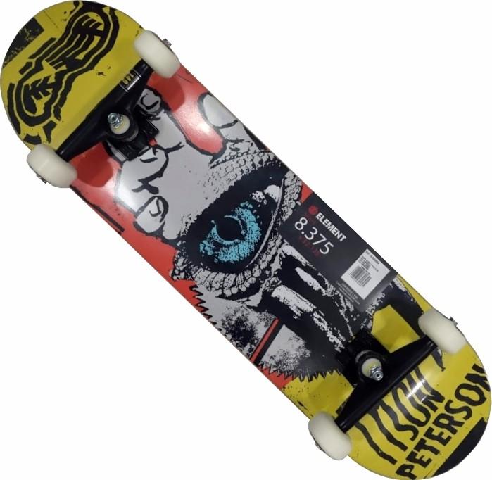 Skate Element Montado Completo Tyson Moska Intruder BS Amarelo/Laranja