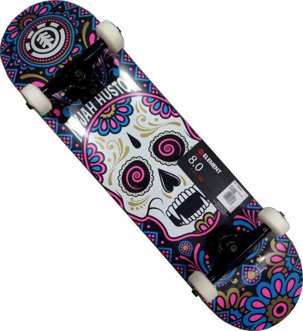 Skate Element Montado Completo Cavalera Nyjah Crail Moska Nmb Color