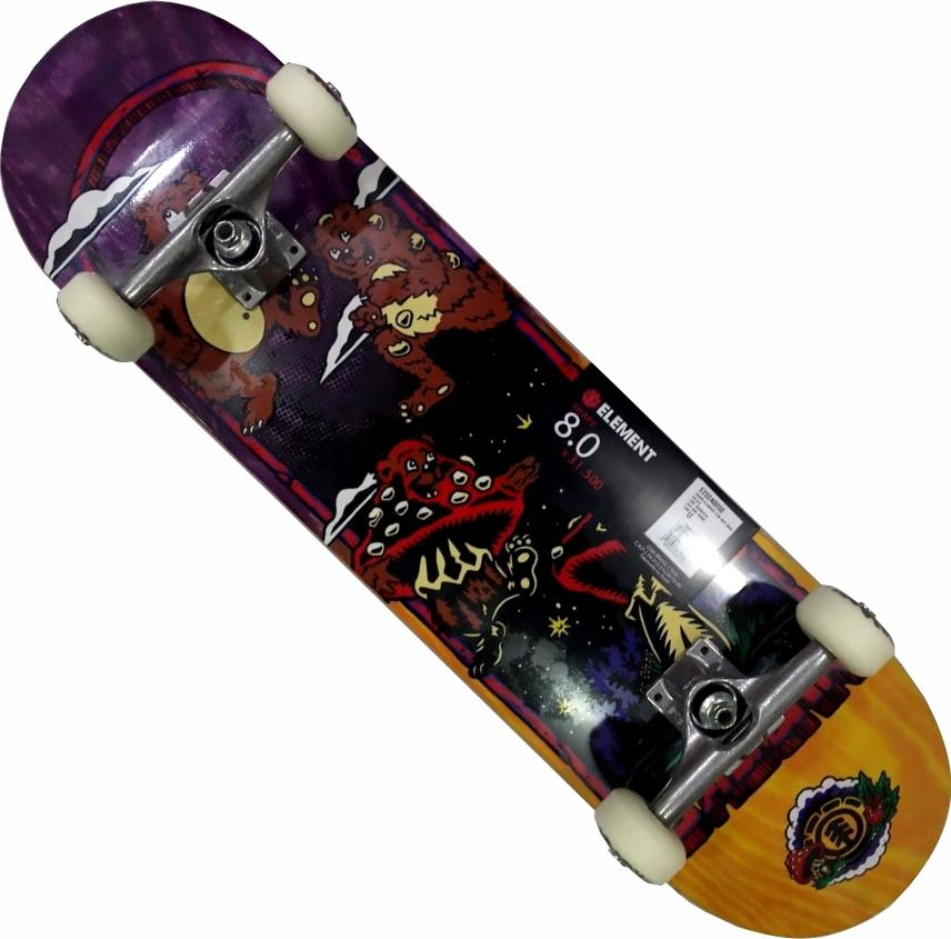 Skate Element Montado Completo Fun Guy Metallum Next Black Sheep