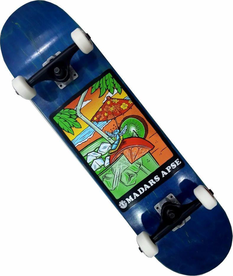 Skate Element Montado Completo Madars/Crail/Moska/Pig