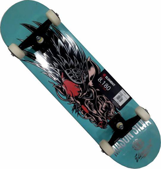 Skate Element Montado Completo Mason Intruder Next Agacê
