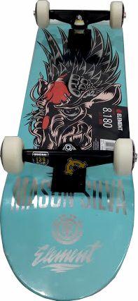 Skate Element Montado Completo Mason Intruder Next Gesso