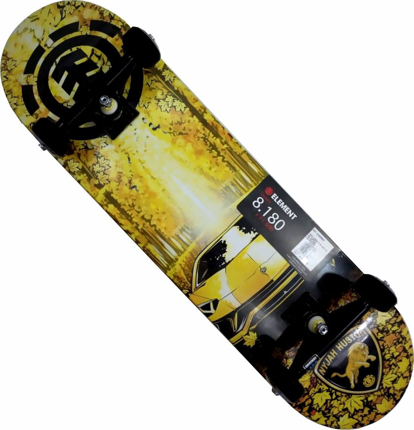 Skate Element Montado Completo Nyjah Moska Intruder Reds Bones