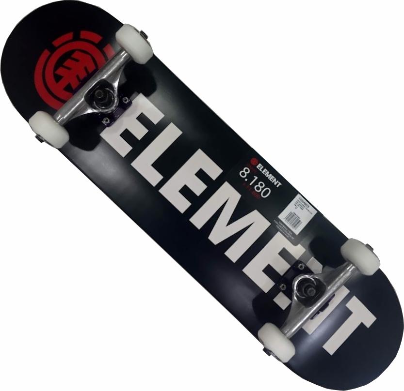 Skate Element Montado Completo Pro Bazin Crail Moska BS