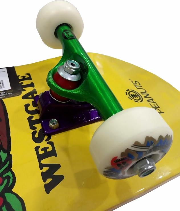 Skate Element Montado Completo Pro Charlie Next City BS