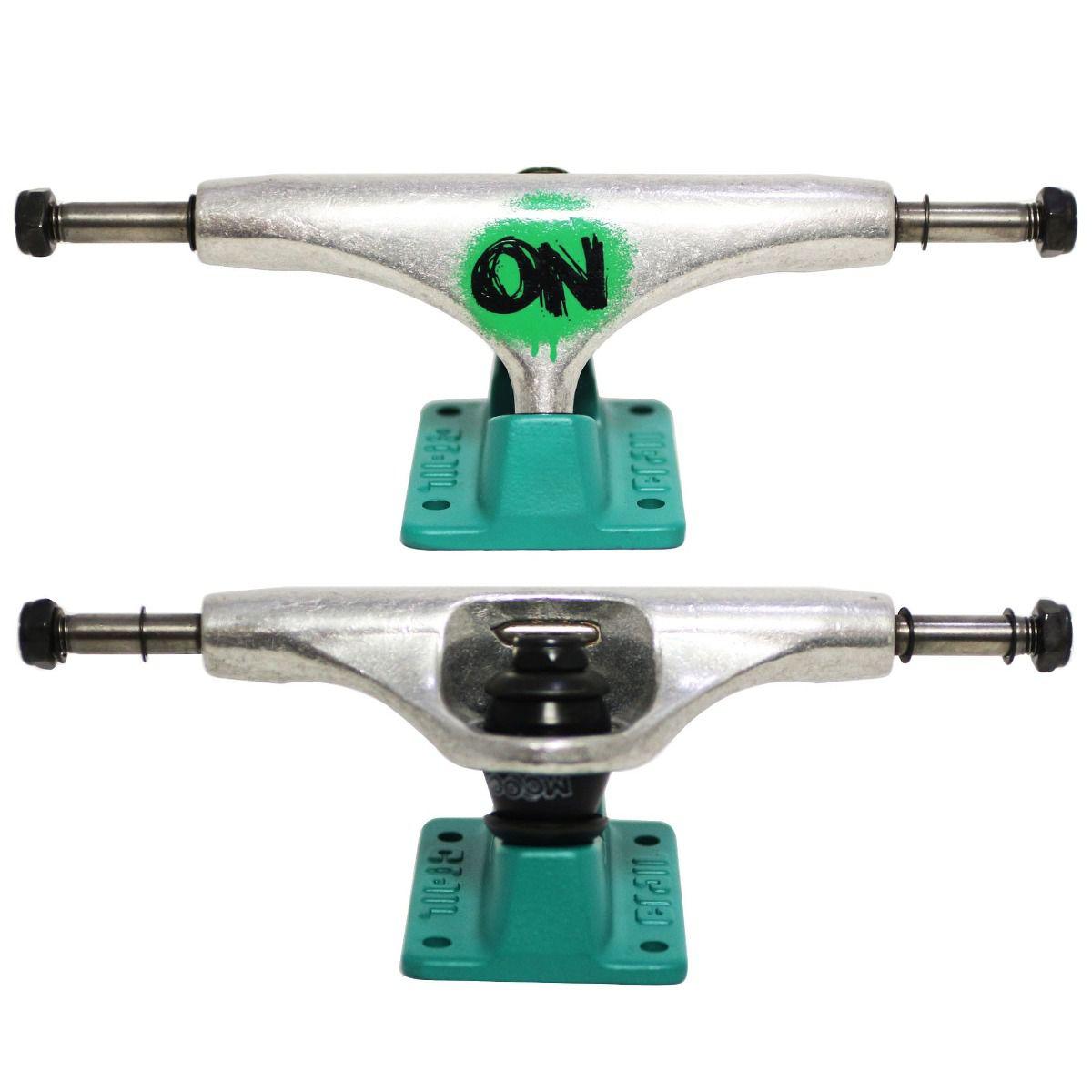 Skate Element Montado Completo Pro Rhom Crail Moska