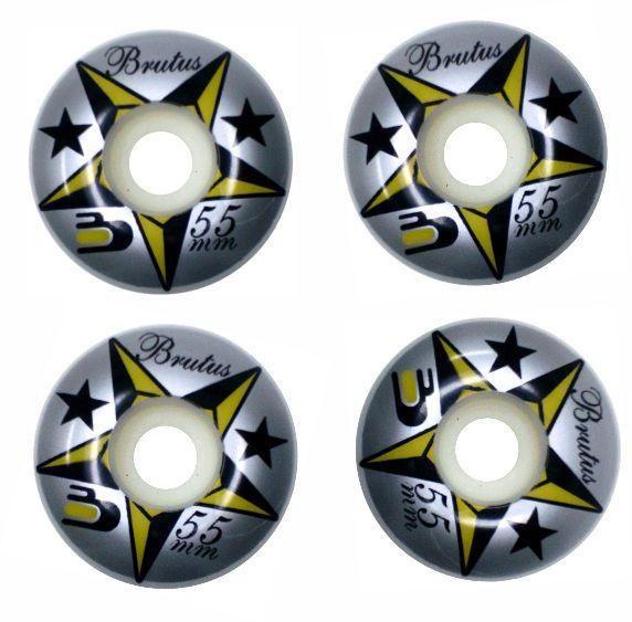 Skate Element Montado Completo Profissional Mottilaa Darkstar Black