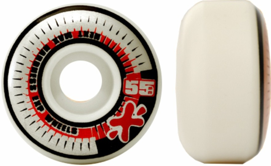 Skate Element Montado Completo Profissional  Section Next Stick FCR Preto/Vermelho