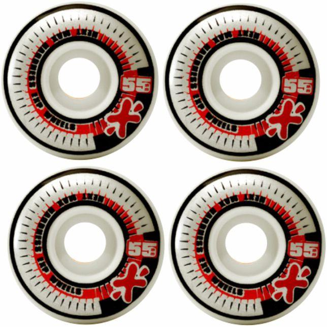 Skate Element Montado Completo Quadrant Next Stick Kolami Preto/Vermelho