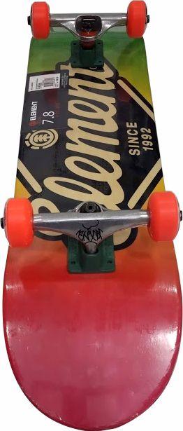 Skate Element Montado Completo Rhomondus Moska Crail