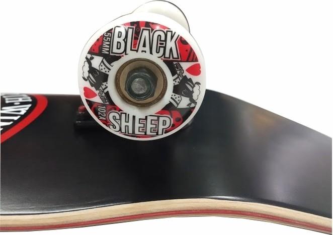 Skate Element Montado Completo Seal Fun Light BS 8.1 Preto