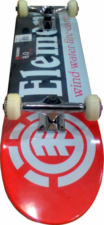 Skate Element Montado Completo Section Creme Nmb Black Sheep