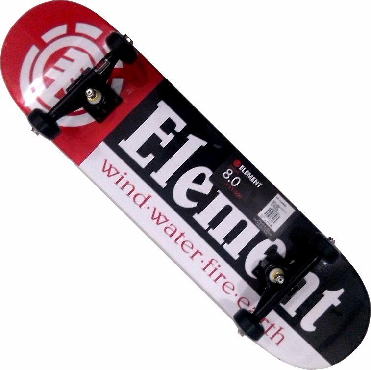 Skate Element Montado Completo Section/Moska/Red Bones/Intruder