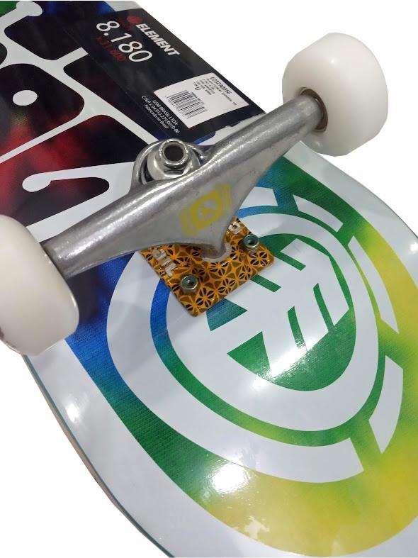 Skate Element Montado Completo Xaparral Pro Crail Moska Visible BS