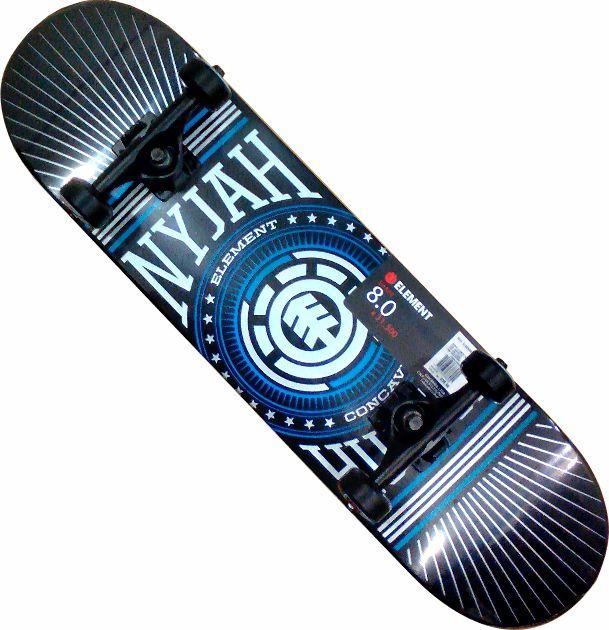 Skate Element Street Montado Completo Nyjah/Moska/Crail