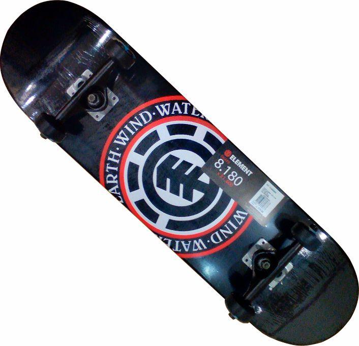 Skate Element Street Montado Completo Seal/Moska/Crail