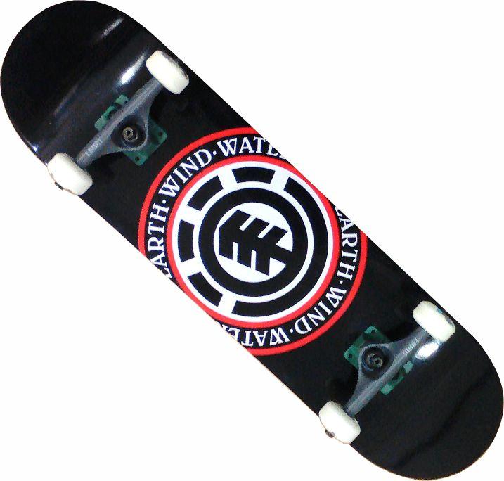Skate Element Street Montado Completo Seal Moska Crail Agacê
