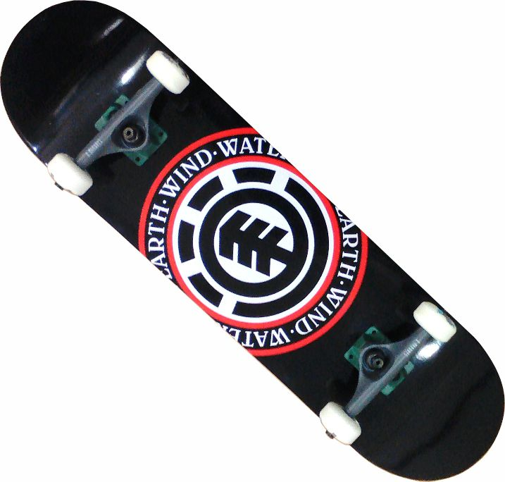 Skate Element Street Montado Completo Seal/Moska/Crail/Mini Logo