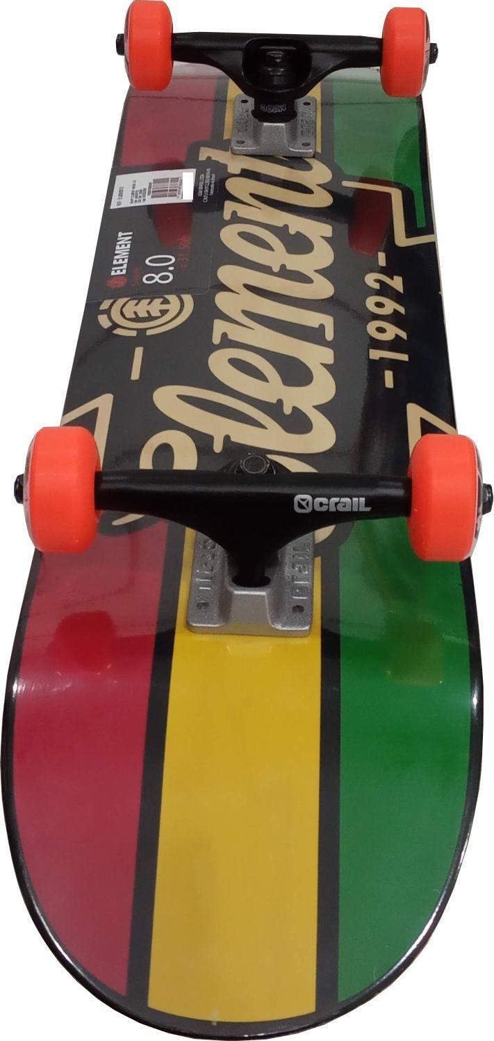 Skate Element Street Montado Completo Wedge/Moska/Crail