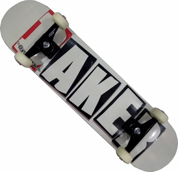 Skate Maple Baker Maple Montado Completo Profissional Stick Abec 13 Black Sheep